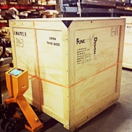 Custom crates by Func Art Design